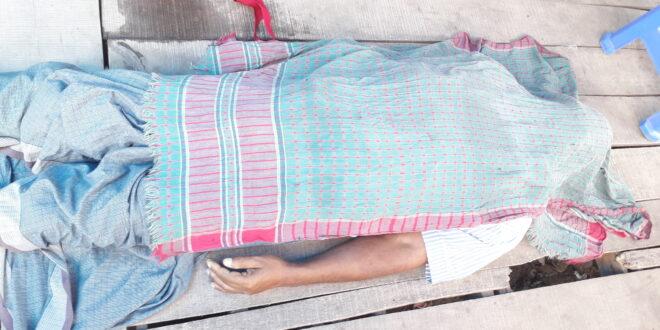 গাজীপুর মহানগরের ভোগরা বাইপাসে স্ট্রোকে আম বিক্রেতা নিহত