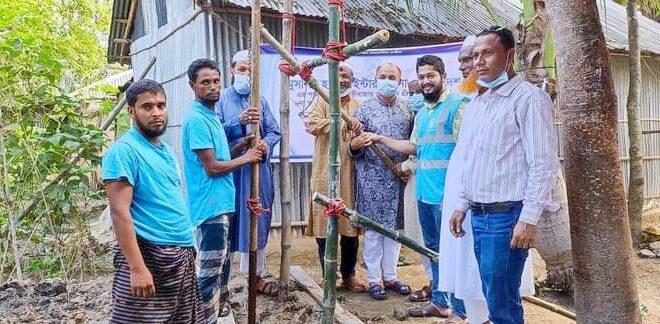 শ্রীমঙ্গলে মুসলিম হ্যান্ডস ইন্টারন্যাশনাল এর ব্যবস্থাপনায় ১০০টি টিউবওয়েল স্থাপন কাজের উদ্বোধন