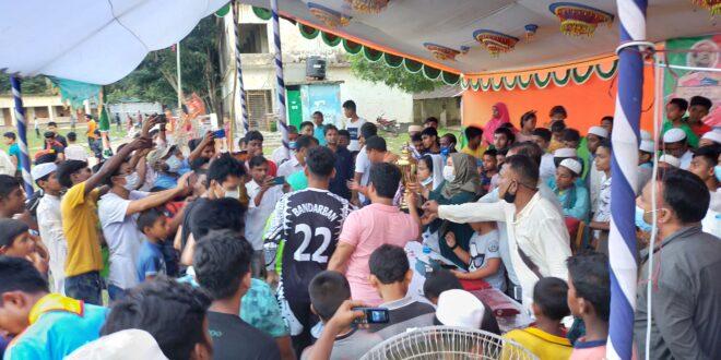 নাইক্ষ্যংছড়িতে বঙ্গবন্ধু জাতীয় গোল্ডকাপ ফুটবল টুর্নামেন্ট এর  ফাইনাল খেলা অনুষ্ঠিত