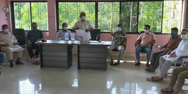 নাইক্ষ্যংছড়ি প্রেসক্লাবের আহবায়ক কমিটির সভা অনুষ্ঠিত