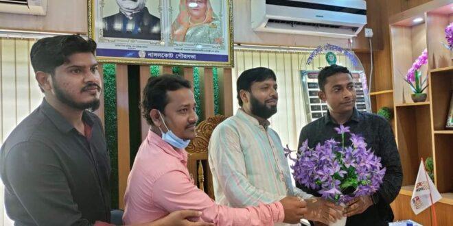 নাঙ্গলকোট প্রেসক্লাব নতুন কমিটিকে মেয়র আব্দুল মালেকের শুভেচ্ছা