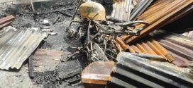নাঙ্গলকোটে আবারও ভয়াবহ অগ্নিকাণ্ড, ৫টি দোকান ও ১৮টি বসতঘর পুড়ে দেড় কোটি টাকার ক্ষতি